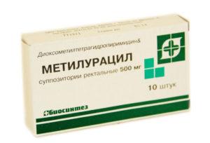 Метилурациловые свечи при цистите