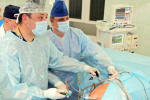Камни в почках операция лапароскопия