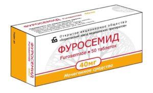 Мочегонные таблетки для