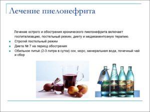 Как лечить пиелонефрита у мужчин