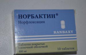 Норбактин при боли в почках