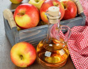 Яблочный уксус и почки