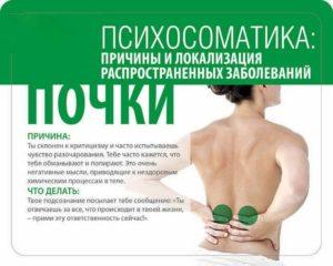 Болезни почек эзотерика