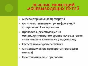 Инфекция мочевыводящих путей лечение народными средствами