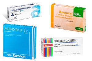Что принимать при болях в почках антибиотики