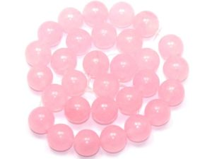 Камень нефрит розовый