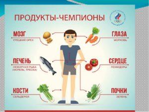 Еда полезная для печени и почек
