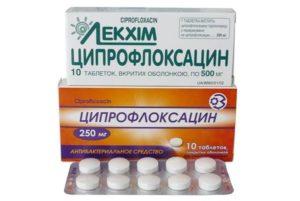 Какой производитель ципрофлоксацин лучше