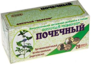 Почечный чай состав трав