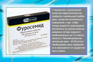 Лечение фуросемидзависимой почки