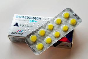 Фуразолидон при простатите