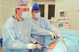 После лапароскопии почки