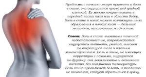 Проблемы с почками симптомы у женщин симптомы