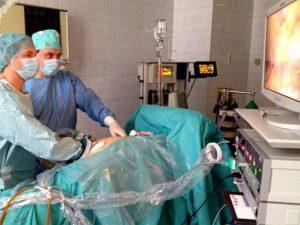 Подготовка к операции по удалению почки у мужчины