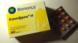 Канефрон помогает при уретрите