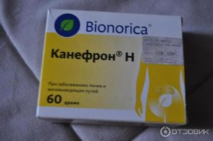 Пиелонефрит таблетки канефрон