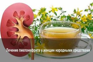 Пиелонефрит симптомы у женщин лечение народными средствами