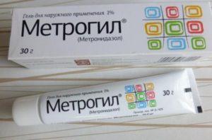 Метрогил гель при уретрите