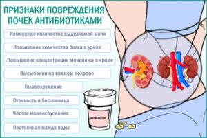 Болят почки после антибиотиков как лечить